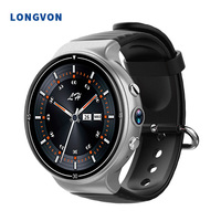 2019 Smart watch Android IOS with Camera Sim Card Fitness Tracker Band 4G Smart Watch