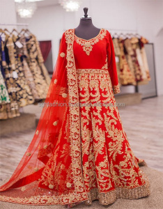 Indian Wedding Bridal Anarkali dresses