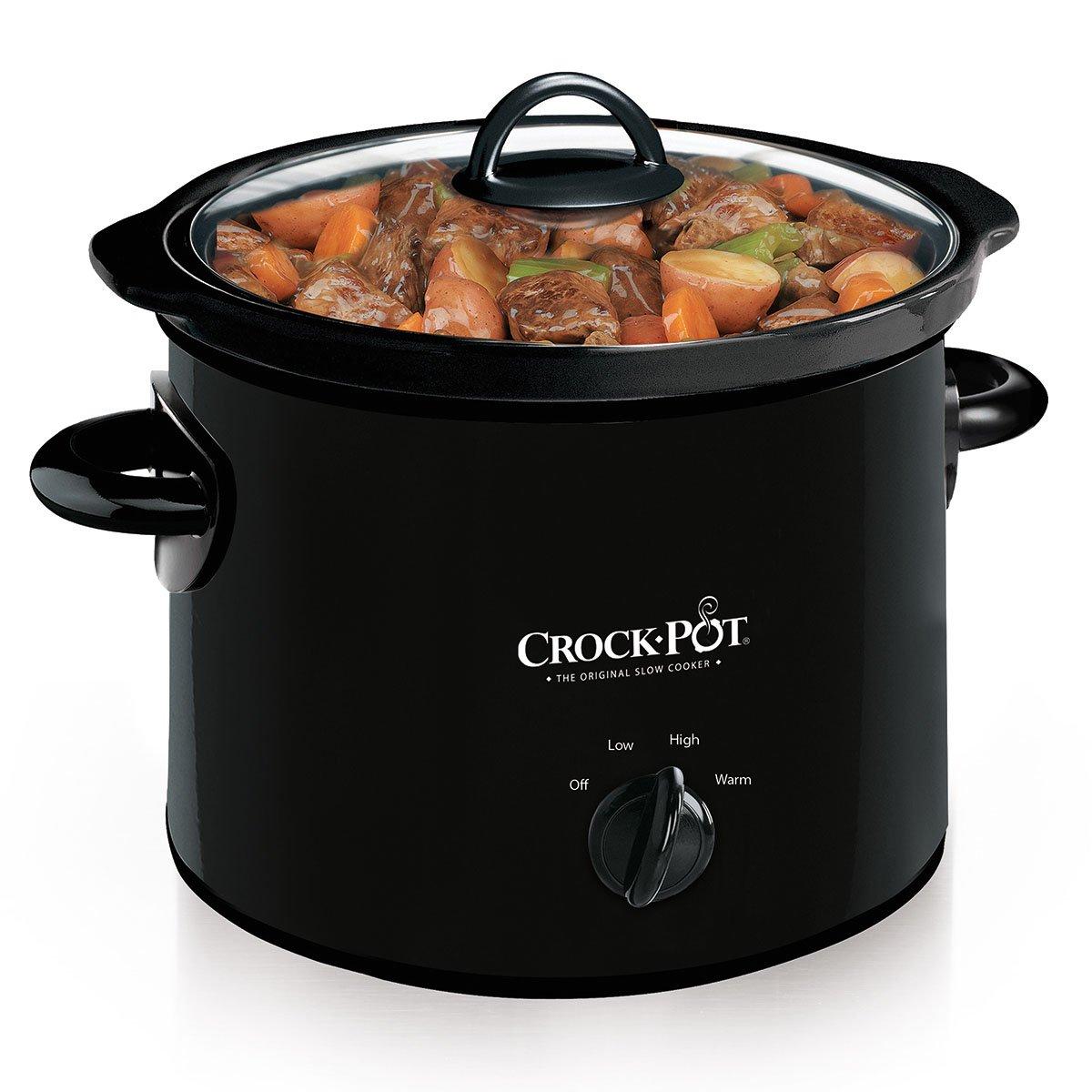 Crock-Pot Manual Slow Cooker, 3 Quart (SCR300-B )