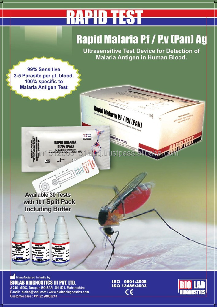 India rapid malaria test kits wholesale 🇮🇳 - Alibaba