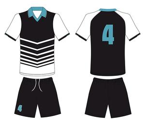 Wholesale Custom Sublimation Logo Printing New Model Men Sport Shirt Full Set Soccer Uniform Football Jersey