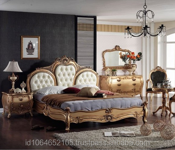 French Style Bedroom Furniture Antique Reproduction