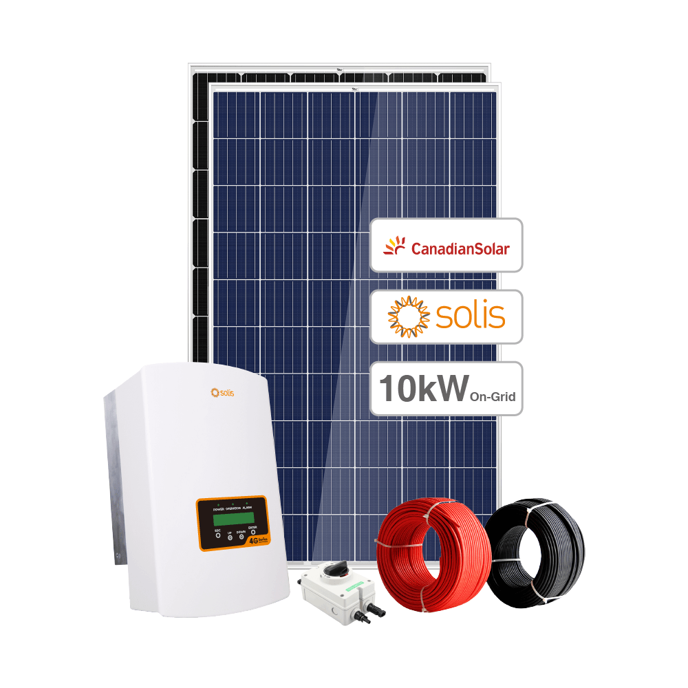 Sunpal Complete 10KW Solar Power Package On Grid 10 KW Solar System For Home 220V 380V