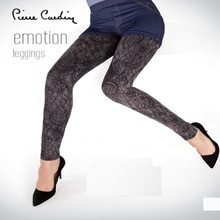 PIERRE CARDIN OFFICIAL OEM WOMEN'S 2017 TIGHTS & PANTS COLLECTION JEAN SHORT & ELEGANT PATTERNED LEGGINGS COMBINATION