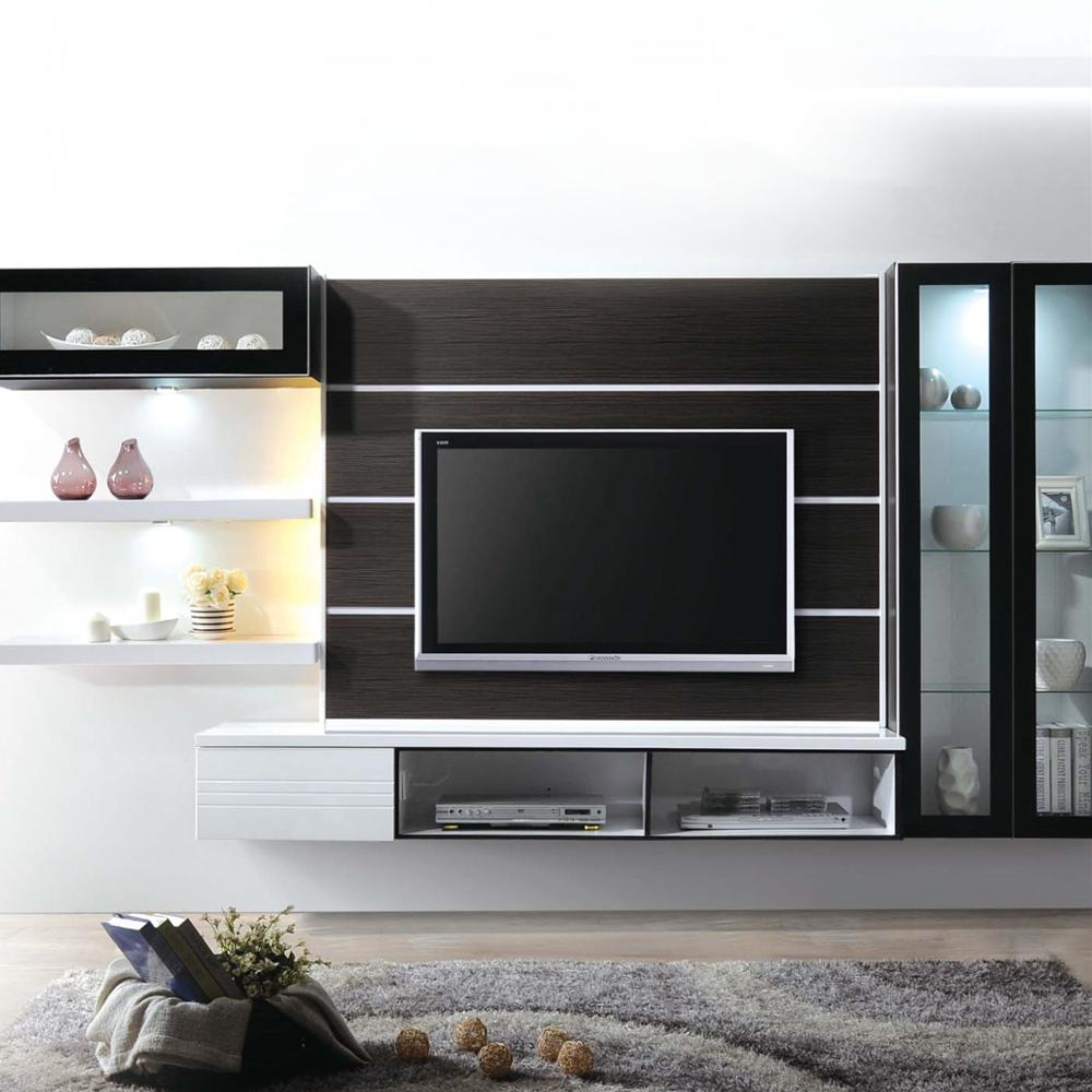 Compartments Lcd Designs Wall Mounted Modular Tv Design Cabinet