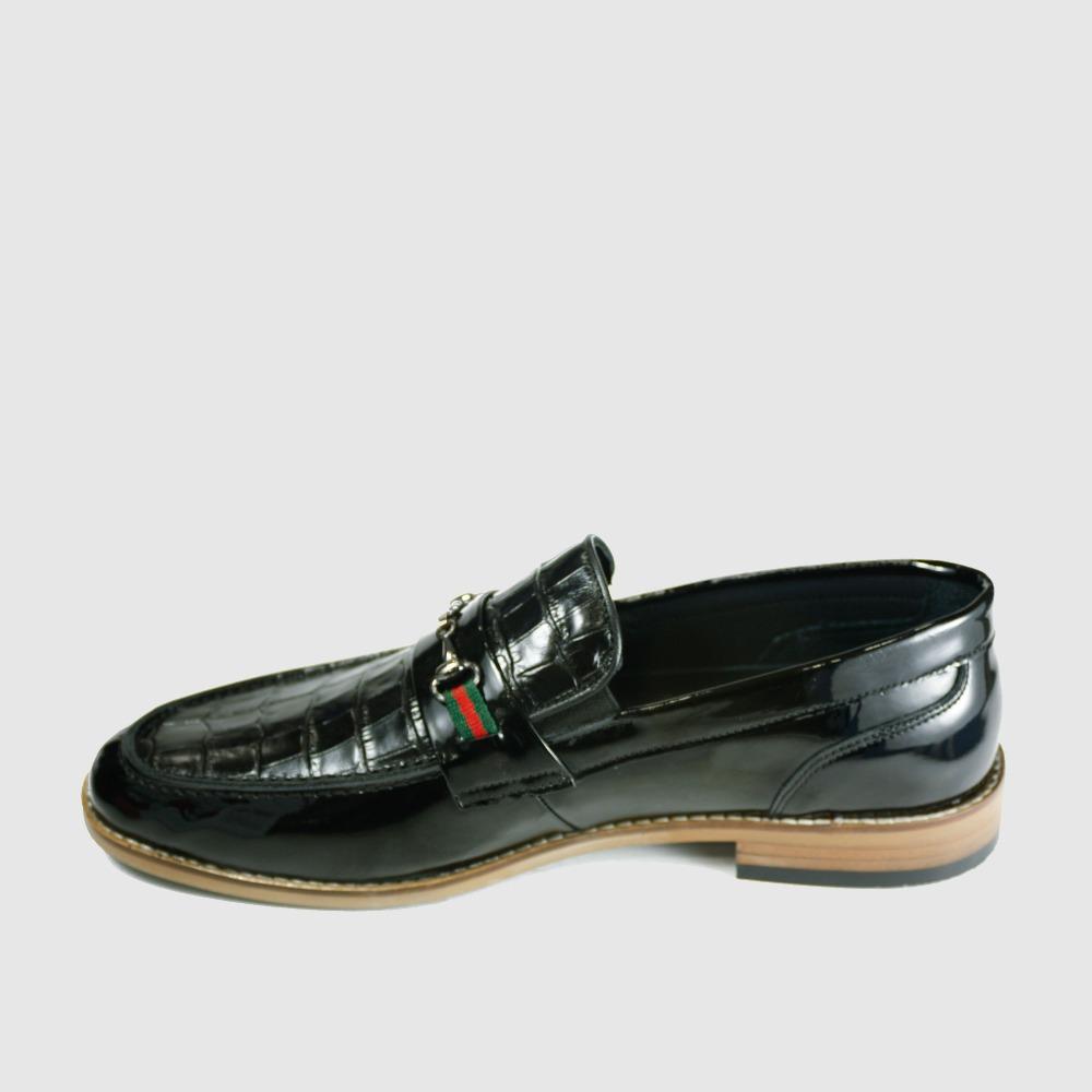 Italy Casual Men Leather Designer Print Crocodile Shoes Genuine Shoes Patent ZgqAnFUw