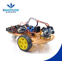 AIS-AF001 Graduate Design Follow Car Robot Kit Assembly Uno r3 Tracking Smart Car Programmable
