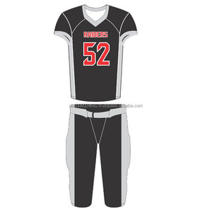 wholesale dealer 48353 68ac6 Best Quality Black Color Custom american flag football uniforms football  youth