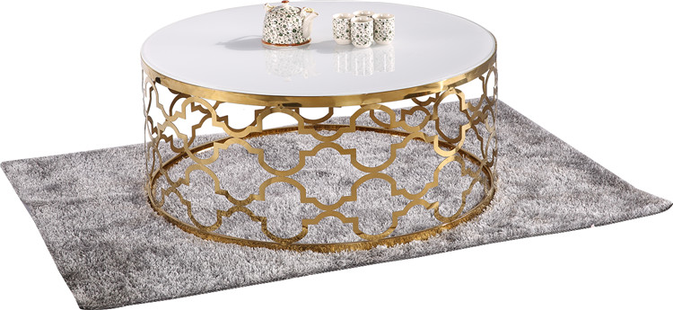 Luxury Japanese Morden Mirrored Round Coffee Side Table Set Guangzhou Round  Glass Dubai Contemporary Silver African Coffee Table   Buy Coffee Table ...