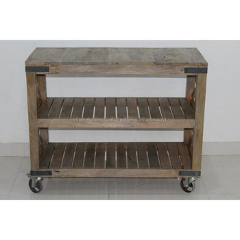 Vintage Industrial Kitchen Cart Trolley On Wheels Industrial Kitchen  Trolley Antique Serving Utility Cart Outdoor Trolleys - Buy Vintage  Industrial ...
