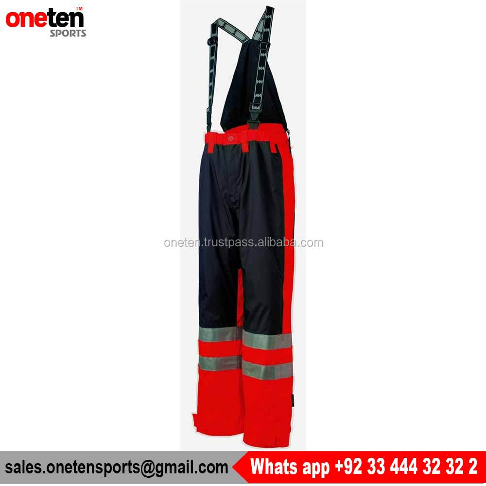 Men's Best Safety Waterproof Bib Overall For Men's - Workwear
