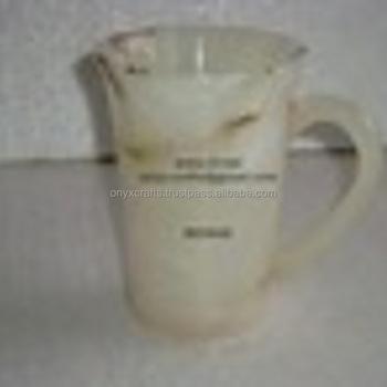 Light White Onyx Mug For Whole Price