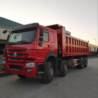 Used HOWO 375HP Dump Truck For Sale China 8x4