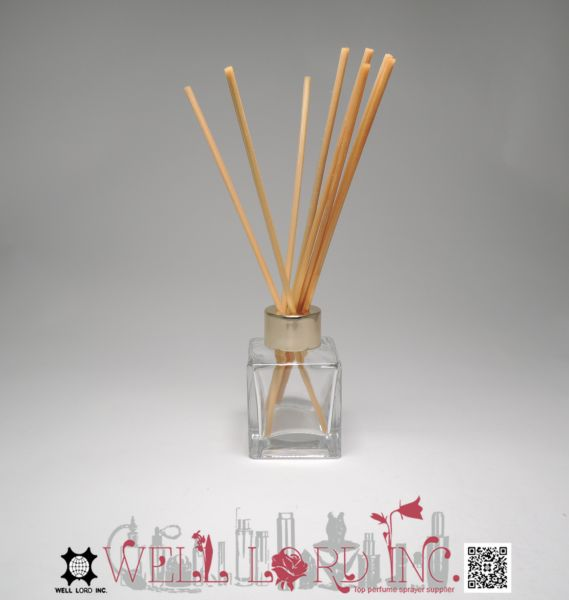 Clean Cotton Reed diffuser oil bottle cube size refill clear glass 40ml