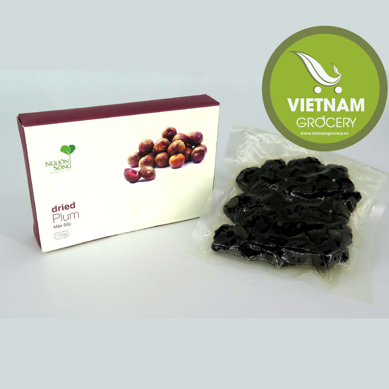 Natural Delicious Vietnamese Dried Plum 100Gr