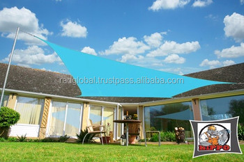 hdpe sun sail shade waterproof car parking shade net