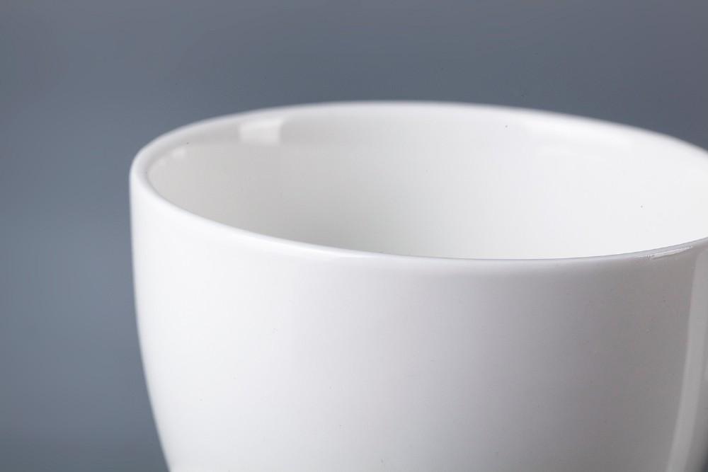 product-White Restaurant Hotel Supplies Coffee Cup Porcelain Tea Cups, Crockery Restaurant Tea Cup A