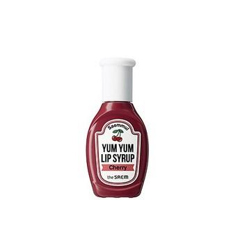 [the Saem] Saemmul Yum Yum Lip Syrup 02 Cherry - Korean Cosmetics - Buy  Korean Cosmetics Brands Liquid Matte Lipstick,Oem Colourpop Cosmetics  Cosmetic