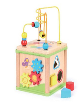5 In 1 Activity Cube Penta Fun House Wooden Educational Toys Buy Educational Manipulative Toyskids Wooden Activity Cube Toywooden Play Maze 5 In 1