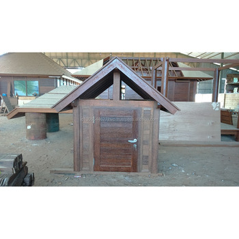 Outdoor Comfortable Wooden Dog House and Wooden Pet Playhouse