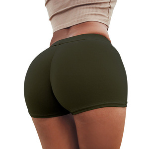 Solid Color Tight Underwear Women Sexy Lingerie Panties