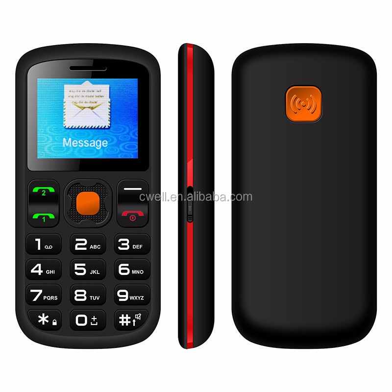 UNIWA V708 Low Price China Senior Phone with SOS function for emergency