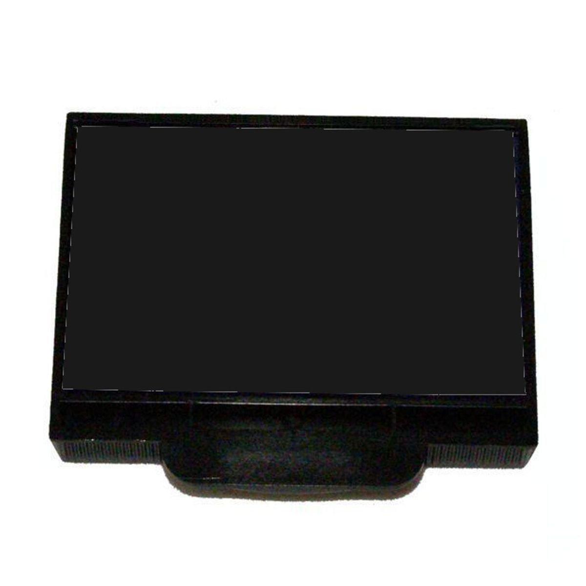 Shiny E-900-7 Black Replacement Pad for E-910 Dater, H-6100 Dater, HM-6100 Dater, H-6440 Dater, H-6556 Numberer, H-6404/DN Dater/Numberer, E-900 Plain Self-inker, HM-6000 Plain Self-inker