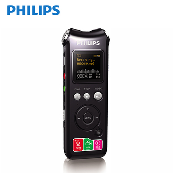 PHILIPS 8GB Brand Spy Mini USB Flash Dictaphone MP3 Player Grey Pen Drive Digital Audio Voice Recorder