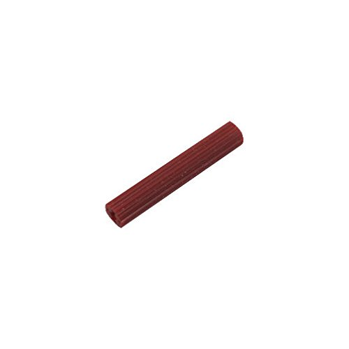 "1-1/2"" Red Plastic Anchors - uses # 6 or # 8 Screw (Box of 100)"