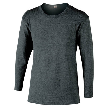 JW-169 BT Thermo Inner Shirt Long sleeve Grey Size: L