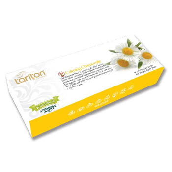 Natural Chamomile Tea - 15 Foiled Enveloped Tea Bags - Herbal Tea -Your Healthy Choice //Tarlton Calming Chamomile
