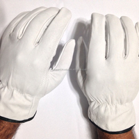 Goat Skin Grain Leather Drivers, work safety gloves