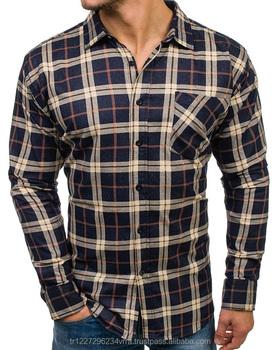 Los Larga Elegante De Hombres Manga Suave Camisa Diseño Textil w0UnqYqB