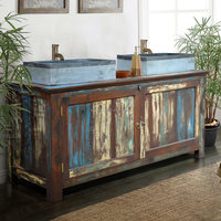 Wooden Cabinet for Wash basin - Antique wood furniture styles - Antique asian wood furniture