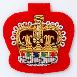 Handmade Embroidered Bullion Badges Wholesale, Bullion