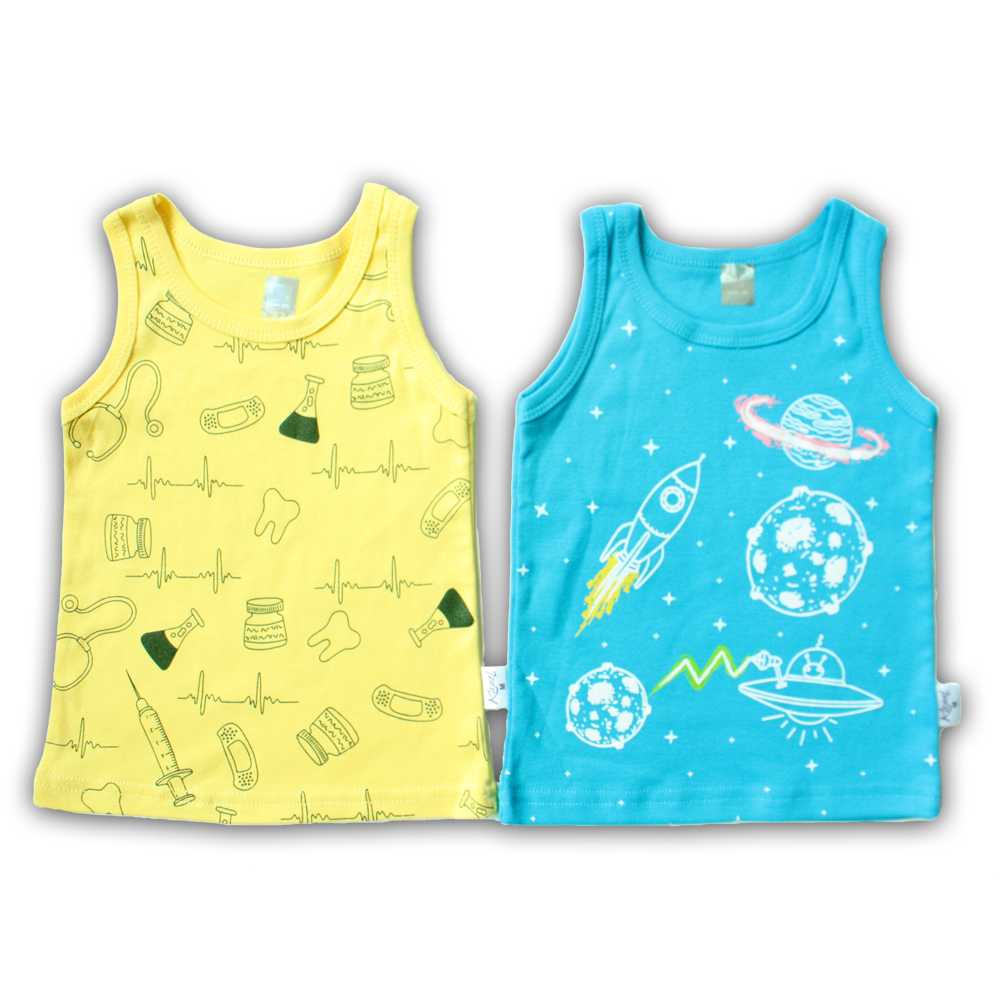 c6c455ee8bc5 Baby Clothes 100% Cotton Singlet Doctor Edition