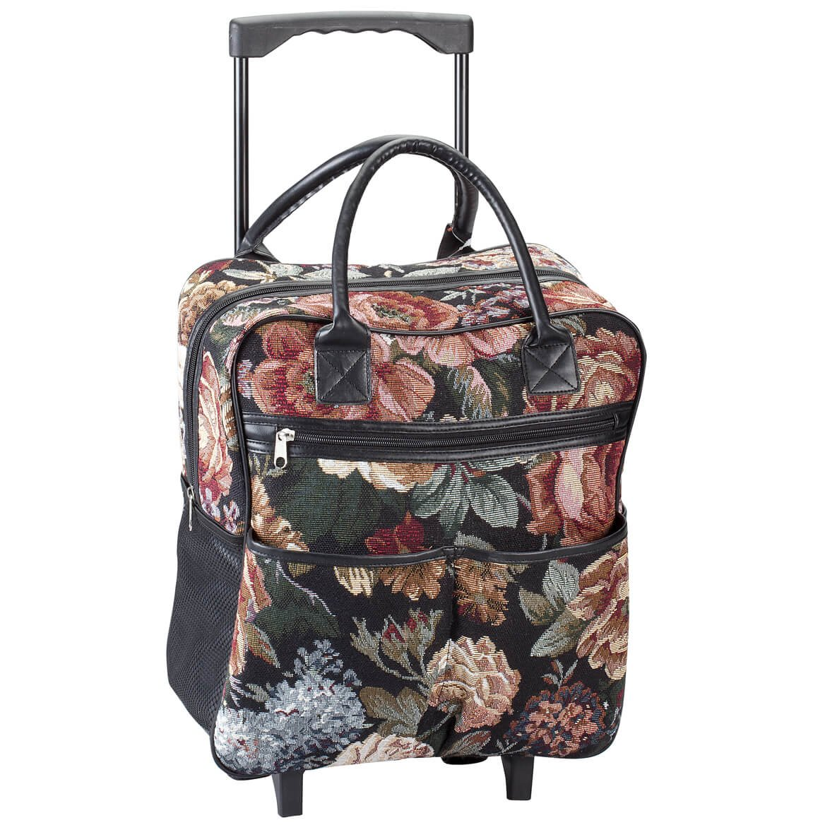 Ambesonne Floral Gym Bag Large Weekender Carry-on Lace Trippy Flowers Leaf