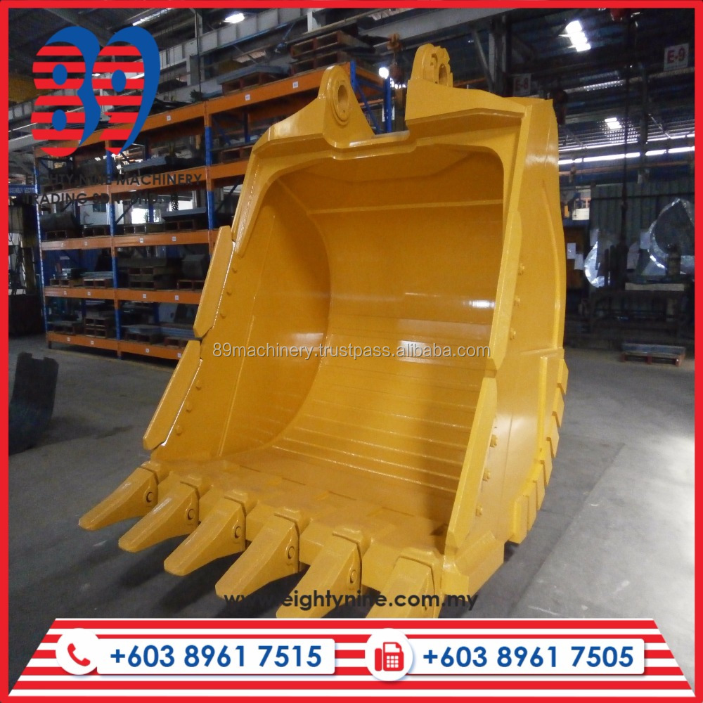 High Quality New Featured Mining Bucket, Komatsu PC1250 in Yellow