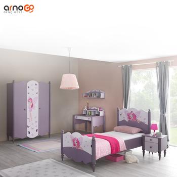 Dream European Design Kids Home Furniture Children Bedroom Sets