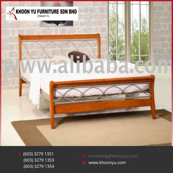 Queen Bedroom Set Veronica Double Bed Wooden Design Furniture Malaysia