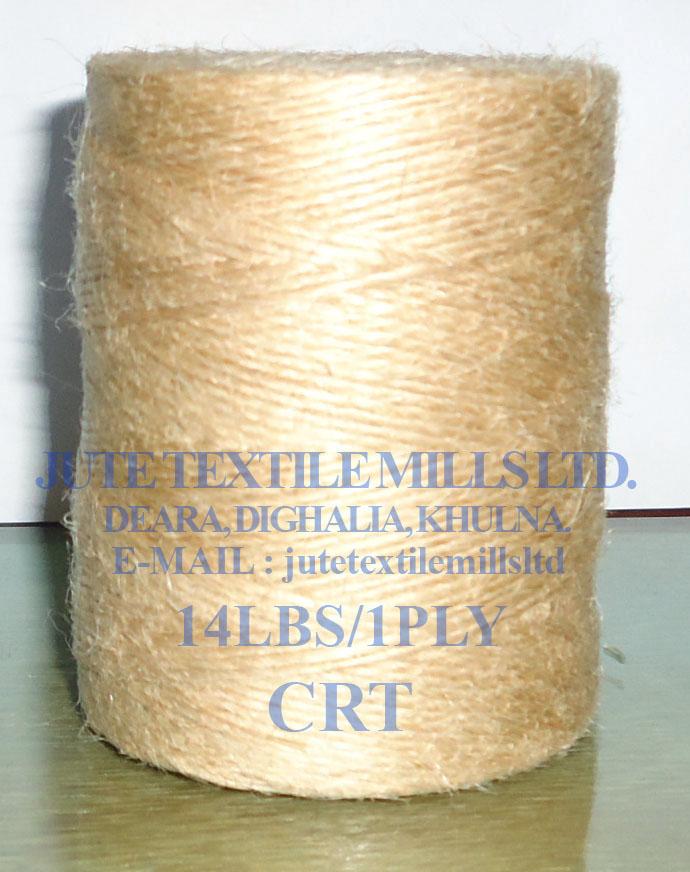 Bangladesh High Quality of Jute Yarn 14 LBS / 1 PLY CRT