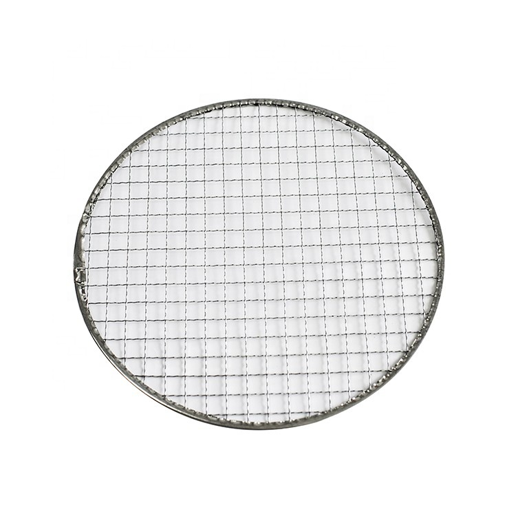 Stainless steel galvanized round 바베큐 그릴 wire mesh 순