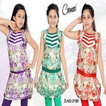 a4bb2b4a34c5 Summer Wear Designer Kurtis For Girls - Buy New Style Cotton Woven ...