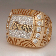 2000 Los Angeles Lakers Nationalen Basketball World Championship Ring