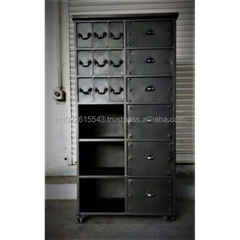 Tall Storage Cabinet With