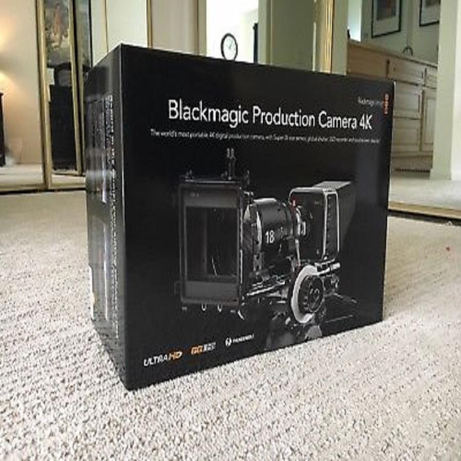 Black Magic Production Camera w/rig, Pelican Case, Lens, 2