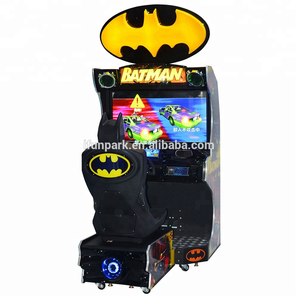 Batman Shooting Electronic Games Racing Machines for Mall