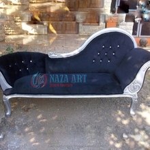 Antique French Chaise Lounge for Bedroom