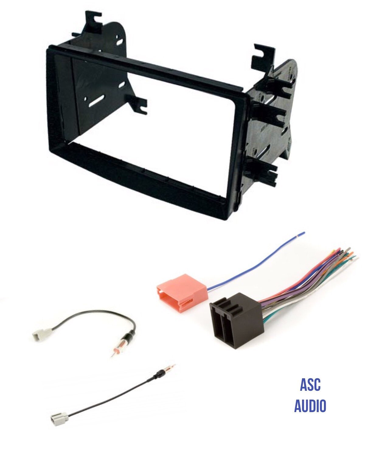 Cheap 2 Din Radio For Kia Soul Find Deals Wiring Harness Get Quotations Asc Car Stereo Install Dash Kit Wire And Antenna Adapter Installing