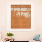 new style Chinese bamboo blinds curtains roll up woven roman bamboo blinds